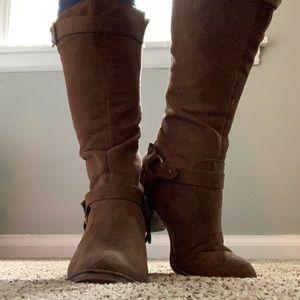 Rocket Dog Heeled Boots